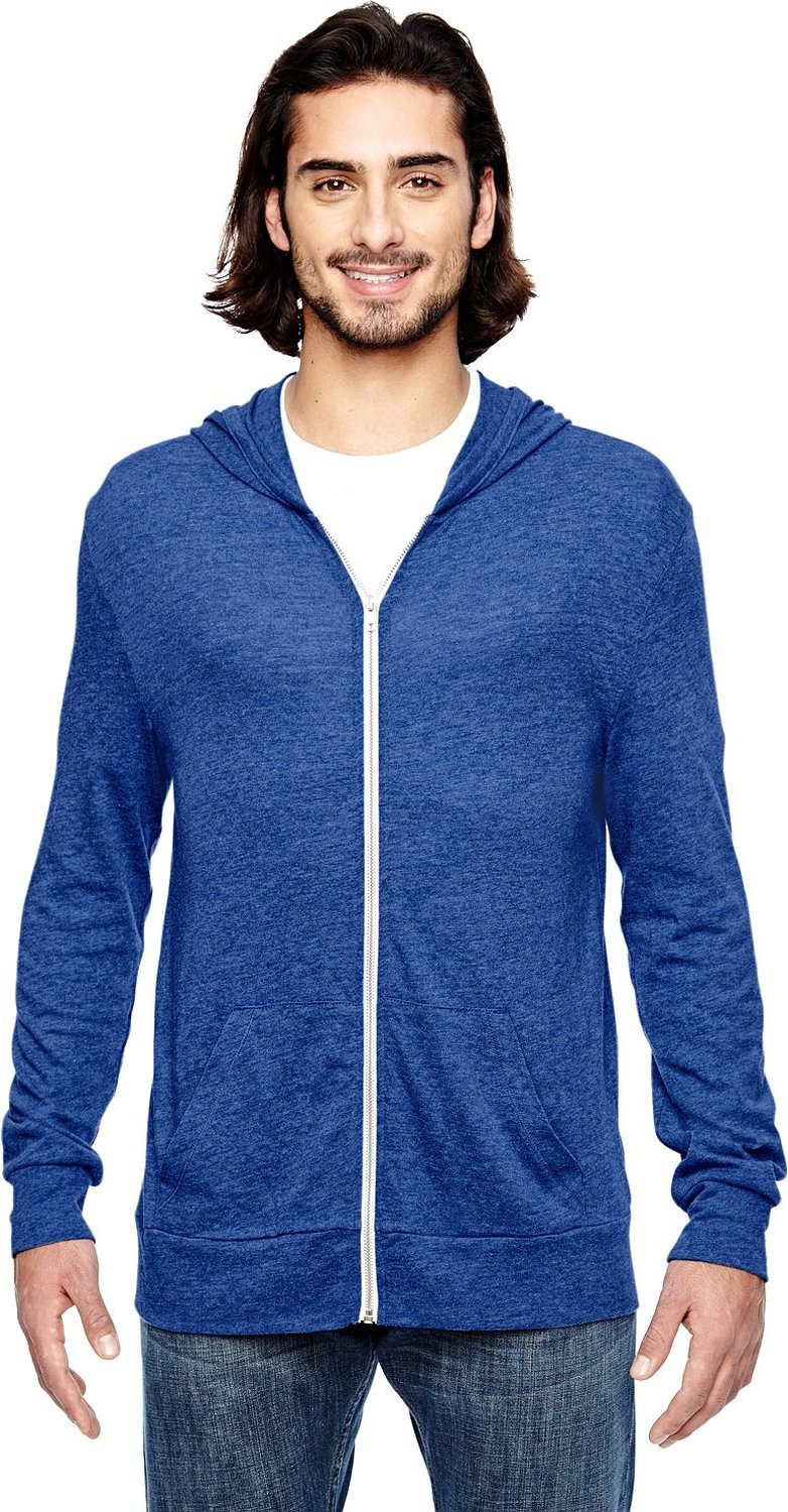 Alternative Mens Zip Hoodie - Mens Urban Clothing