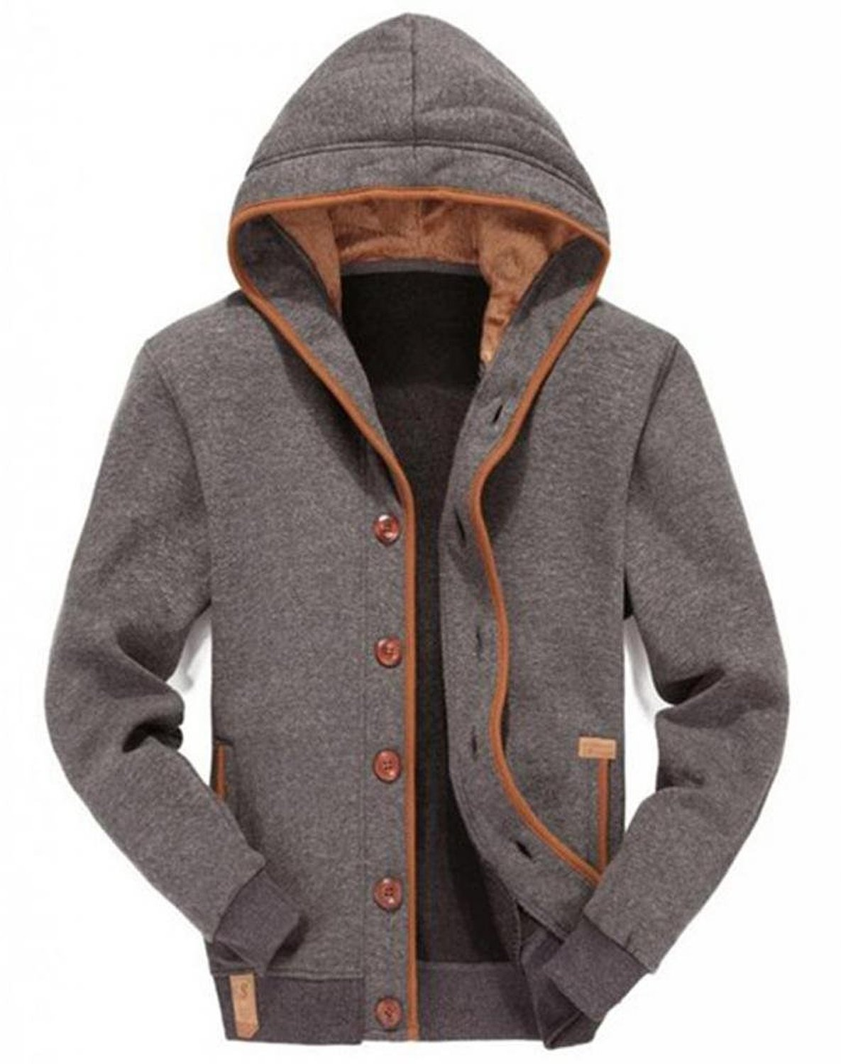 WantDo Winter Fleece Jacket - Mens Urban Clothing