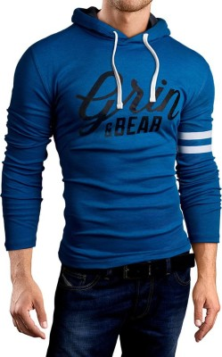 Mens Sleeveless Hoodie grin&bear Polo Shirt