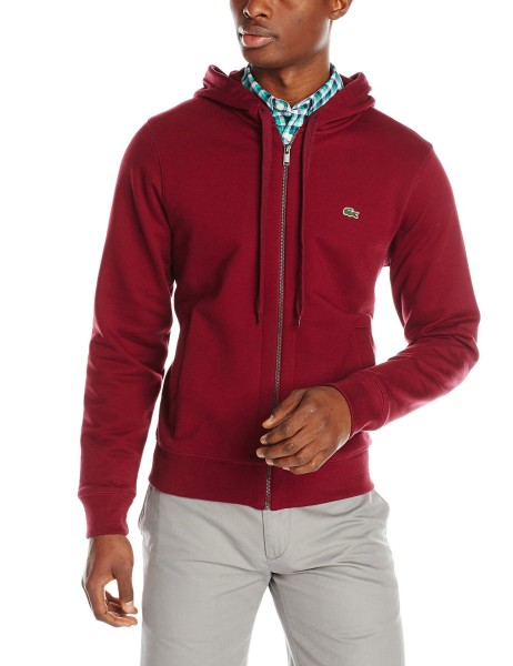 Lacoste Mens Hooded Sweatshirt