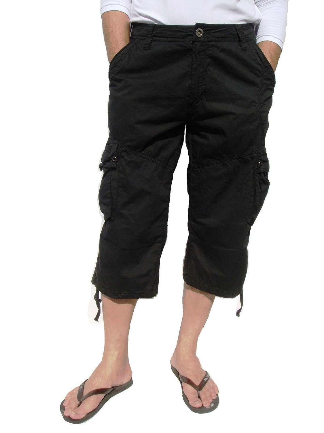 Stone Touch Capri Shorts - Mens Urban Clothing