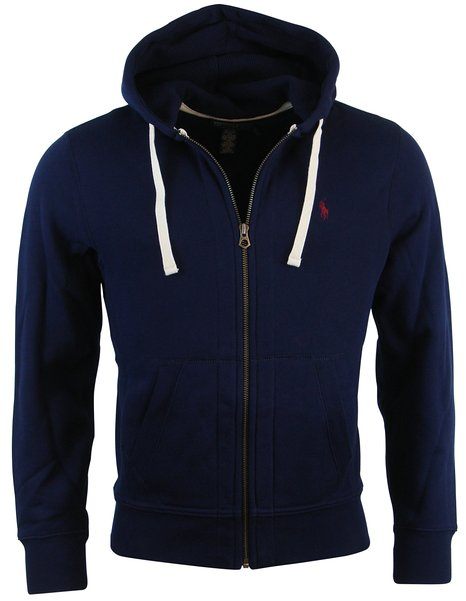 Lauren Classic Full-Zip Fleece Sweatshirt