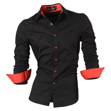 Jeansian Sleeves Casual Fashion Shirts