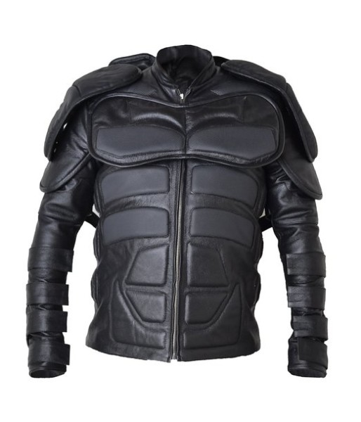 Batman Dark Knight Shield Faux Leather Jacket