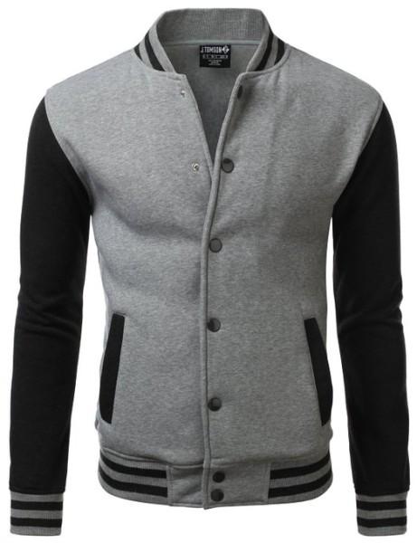 IDARBI Raglan Varsity Jackets for Men
