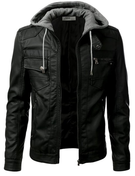 IDARBI Urban Knight Jacket with Detachable Hood