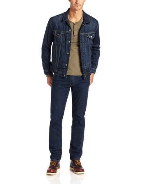 Levis Men Denim Trucker Jacket