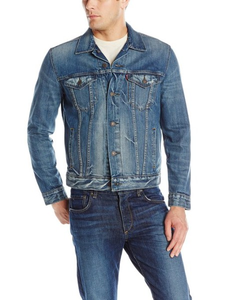 Levis Trucker Jacket - mens jeans jacket