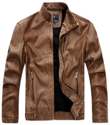 Mens Faux Leather Jacket - Mens Urban Clothing