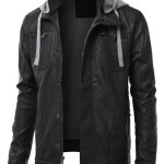URBAN K Faux Leather Jacket