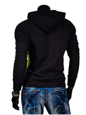 mens-knight-hoodie-red-back