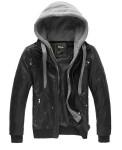 WantDo Mens Fashion Leather Jackets