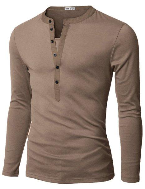 Long Sleeve Slim Fit Shirts