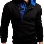 slim fit hoodies