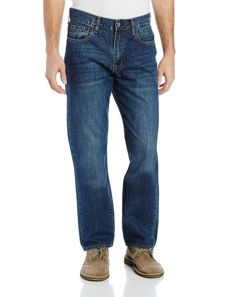 Izod Mens Big and Tall Relaxed Fit Jean