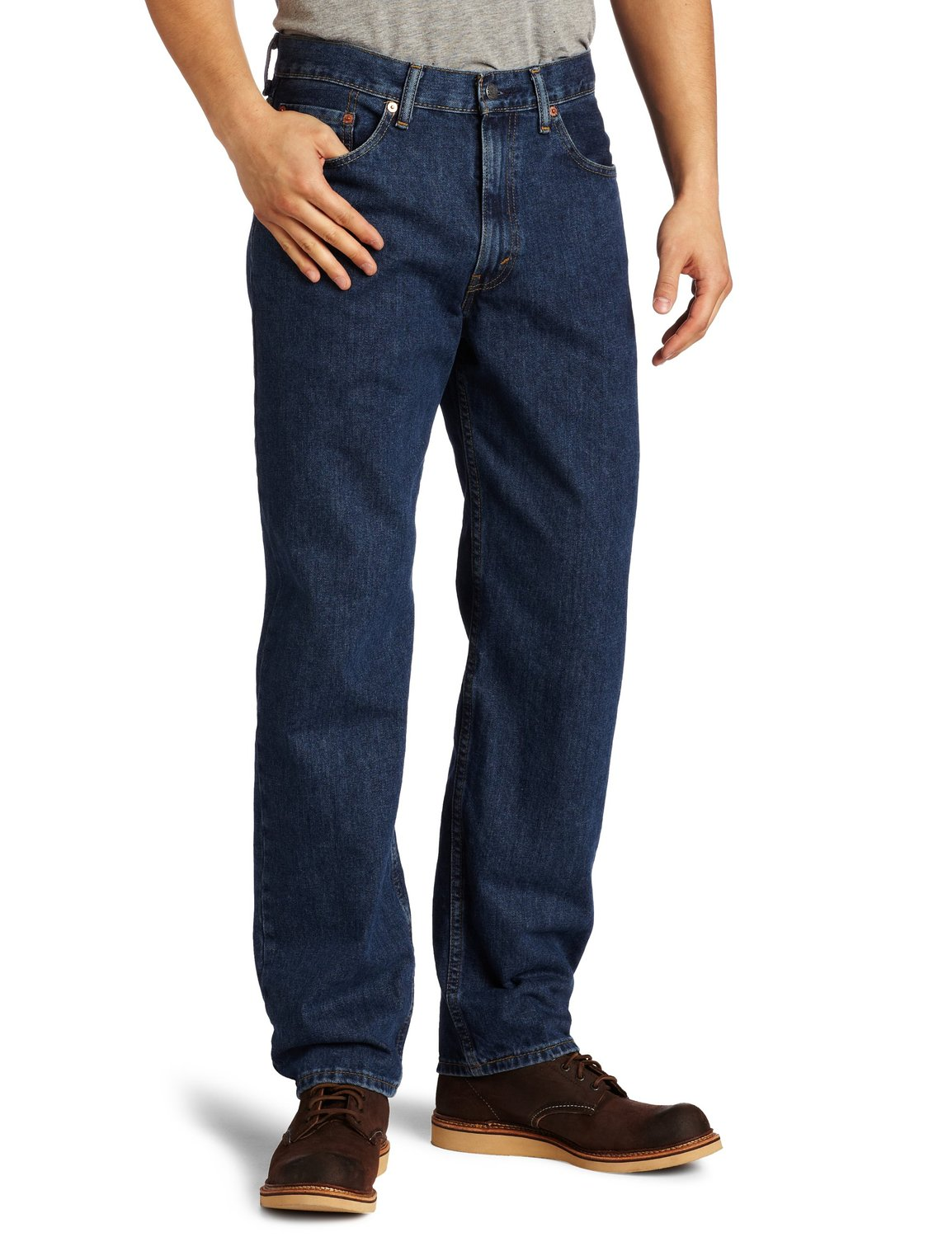 Levis Mens 550 Relaxed Fit Jean