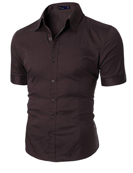 Doublju Mens Wrinkle Free Dress Shirts