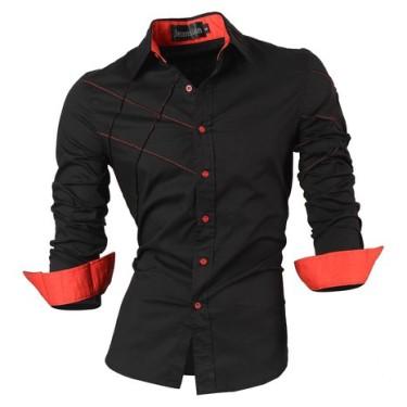 Jeansian Sleeves Casual Fashion Shirts