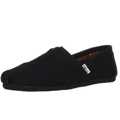 TOMS Mens Classic Woven Slip-On