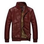 WenVen Winter Fashion Urban Leather Jackets