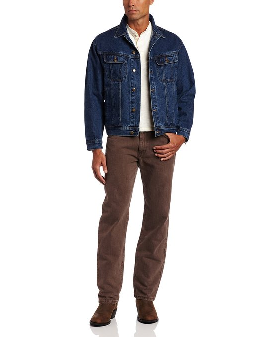 Wrangler Rugged Mens Jeans Jacket