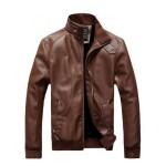 Zeagoo British Style Stand-Collar Zipper Urban Jacket
